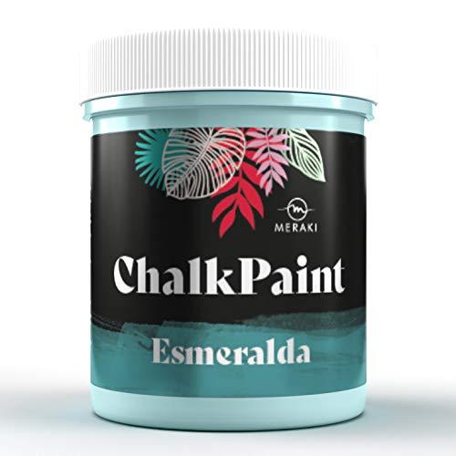 Chalk Paint - Vernice effetto gesso all acqua opaca, 500 ml, smaltata