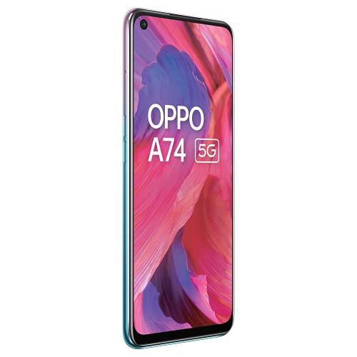 OPPO A74 5G (Fantastic Purple, 6GB RAM, 128GB Storage)