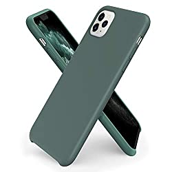 [Liquid Silicone Material]: Liquid silicone iPhone 11 Pro Max case.Which is the real Liquid Silicone,anti-dust better than over 95% silicone cases, gives durable, two-layer construction for reinforced toughness and smooth touch ever. Plus, the inner ...