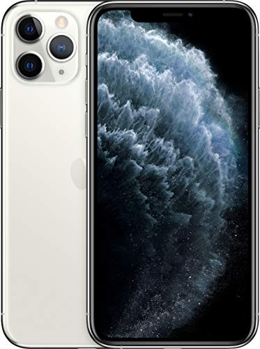 (Renewed) Apple iPhone 11 Pro, US Version, 64GB, Silver - Unlocked