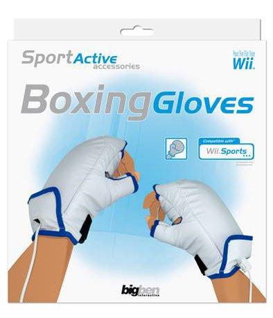 Bigben Wii Boxing Glove - cajas de video juegos y accesorios (Blanco,...