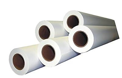 "Alliance CAD Paper Rolls, 42"" x 150', 96 Bright, 20lb - 4 Rolls Per Carton - Ink Jet Bond Rolls with 2"" Core"