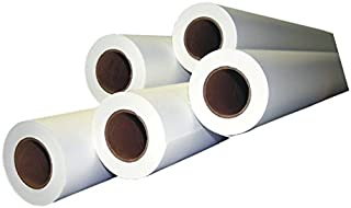 "Alliance CAD Paper Rolls, 42"" x 150', 92 Bright, 20lb - 4 Rolls Per Carton - Ink Jet Bond Rolls with 2"" Core"