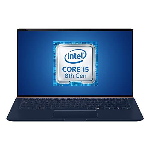 Asus Zenbook UX433FN-A5363T, Notebook con Monitor 14 , Anti-Glare, Core i5 8265U, RAM 8GB, 256GB SSD PCIE, Windows 10, Scheda Grafica da 2 GB GDDR5