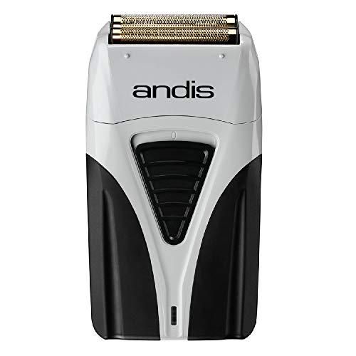 Andis Profoil Lithium Plus Titanium Foil Shaver 17200, Black/Gray, 1 Count