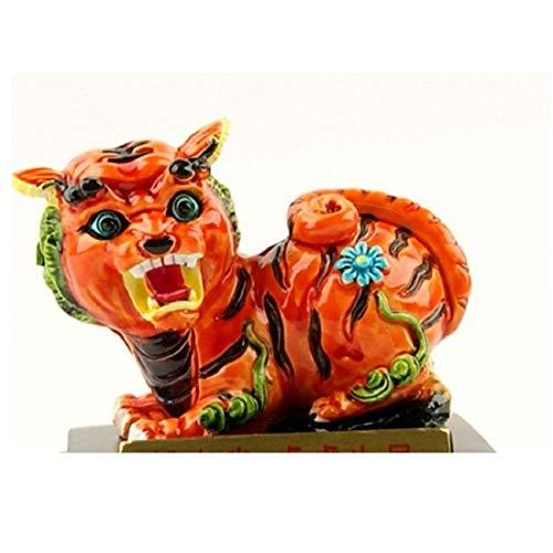 GangKun Zodiac, cross-toe aardewerk, rat, koe, konijn, draak, slang, paard, aap, kip, hond, varken, karakteristieken, Home, auto, decoratie 9