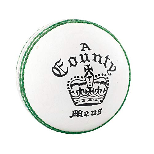 Readers County Crown Cricket Ball -White-DS