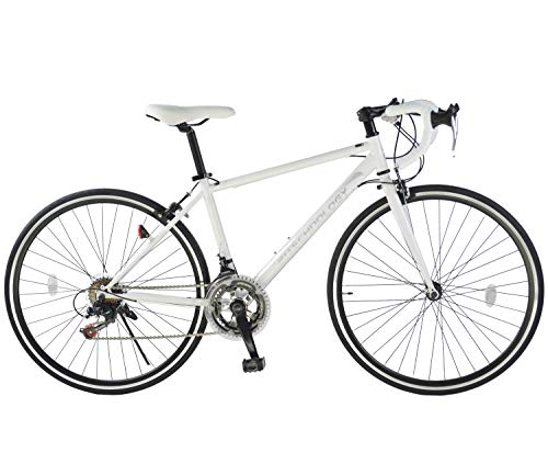 21Technology ロードバイク (700×28c) 自転車 シティサイクル シマノ14段変速ギヤ 街乗り 通勤 通学 スポーツ 初心者 700C
