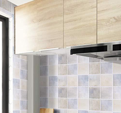 Pegatinas impermeables y a prueba de aceite pegatinas de pared resistentes a altas temperaturas azulejo de cerámica decoración de la pared papel tapiz 60 CM * 10 M C