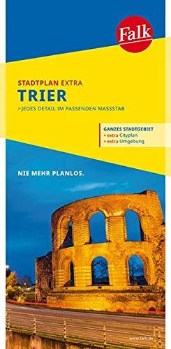 Falk Stadtplan Extra Standardfaltung Trier mit den Ortsteilen von Aach, Gusterat: h, Kenn, Konz, Schweich, Trierweiler 1:20 000 (Falk Stadtplan Extra Standardfaltung - Deutschland)