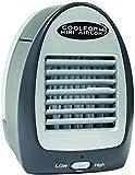 Mini condizionatore d'aria per uso personale 2 ventilatori con velocità diverse Aggiornamento portatile e facile e celle frigorifere