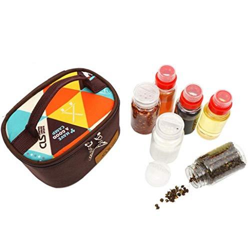 6pcs/set Portable Spice Jars Set...