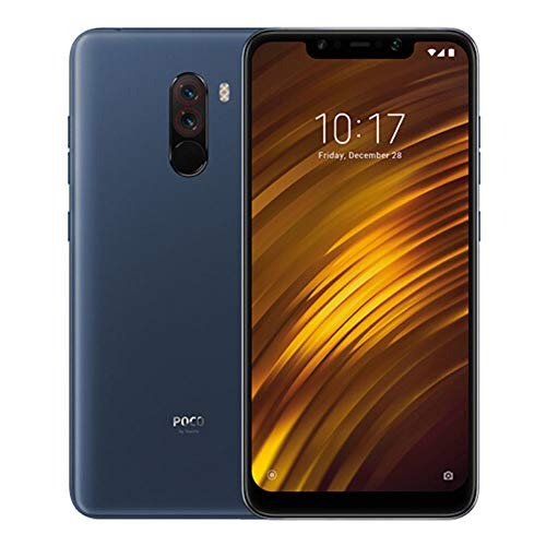 Poco F1 (Steel Blue, 6GB RAM, 128GB Storage)