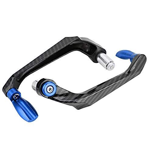 KIMISS Universal 7 / 8in 22 mm CNC Manillar de Palanca de embrague de freno Protector de mano para motocicleta, scooters, automóviles eléctricos(azul)