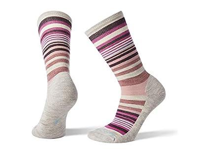 Smartwool Jovian Stripe Ash/Meadow Mauve SM (Women's Shoe 4-6.5)
