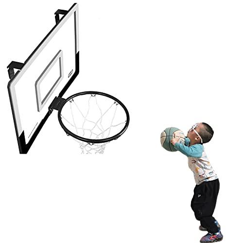 Canasta de baloncesto Hoop de Baloncesto Montado en la Pared, Mini Tablero de Baloncesto al Aire Libre para el Hogar/Oficina/Jardín, Juguetes de Regalo para Adolescentes Niñas Niñas