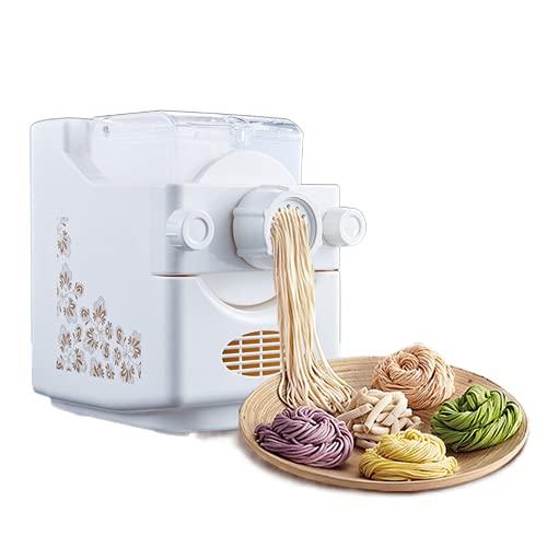 Máquina de pasta eléctrica automática con 9 formas diferentes de pasta, espaguetis,...