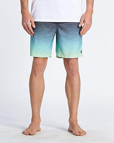 BILLABONG All Day Faded Laybacks 16' Pantalones Cortos, Hombre, Amarillo (Citrus), L