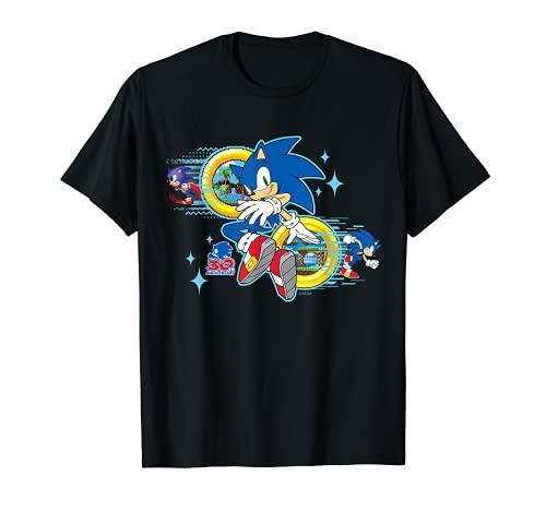 Camiseta del 30 Aniversario de Sonic the...