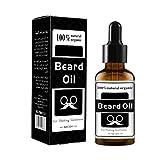 Aceite de barba Onkessy Bigote Kit de bálsamo y aceite Natu