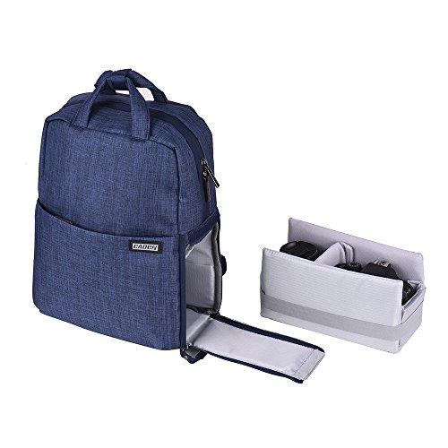 Andoer Caden L5 wasserdichte Digitale SLR Kamera Rucksack Freizeit Reisetasche für Canon Nikon Sony Digital SLR-Kameras und Objektiv-Laptops