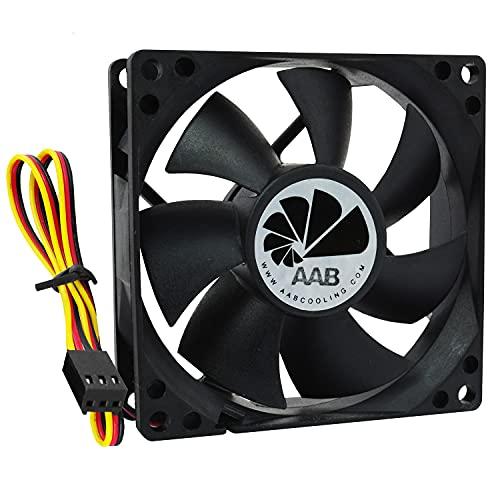 AABCOOLING Fan 8 - Leise und Efizient 80mm Gehäuselüfter - Ökonomische Reihe Für CPU Lüfter, Ventilator, Gehäuse Lüfter, Ventilator 12V, Gehäuselüfter 80mm 25 dB(A), 68 m3/h