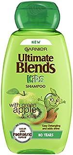 Garnier Original Remedies Ultimate Blends, Champú suave para niños con manzana, Pack de 6 x 250ml