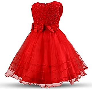 Special Occasion Pleated Dress For Girls