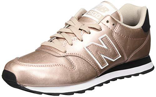 New Balance 411, Zapatillas para Mujer, Champaign Metálico, 41.5 EU