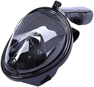 قناع غوص مصنوع من السيليكون السائل بجهاز تنفس للوجه بالكامل معدات متوافقو مع كاميرا جوبرو شاومي واي اي اس جيه كام