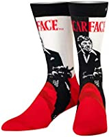 Odd Sox, Unisex, Movies, Scarface Al Pacino, Crew Socks, Novelty Crazy Cool 80s