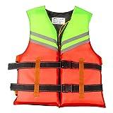 Qwing Giubbotto di Salvataggio Professionale per Adulti, Giubbotto di Salvataggio Regolabile, Giubbotto di galleggiamento per Adulti, Giubbotto salvagente per Nuoto in Schiuma per Sport Acquatici