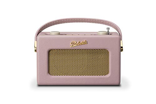 Roberts Revival Uno Compact Dab/Dab+/FM Radio Digital con Alarma Rosa Oscuro