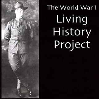 World War I Living History Project audiobook cover art