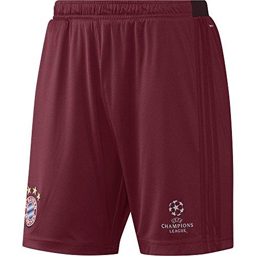 adidas Herren FC Bayern München Shorts, Collegiate Burgundy, L