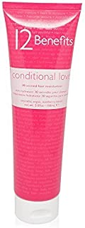 12 Benefits Conditional Love 30 Second Hair Moisturizer Conditioner 5.07 oz by 12 Benefits