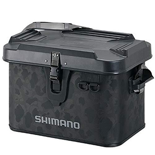 シマノ(SHIMANO) 釣りバッグ タックルボートバッグ(ハードタイプ) 22L ブラックダックカモ BK-001T