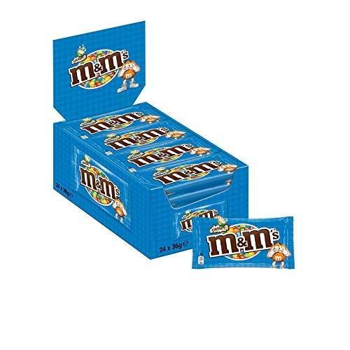 M&Ms Crispy Confetti, Cioccolato con Riso Soffiato, 24 Bustine x 36 G, 864 Grammi