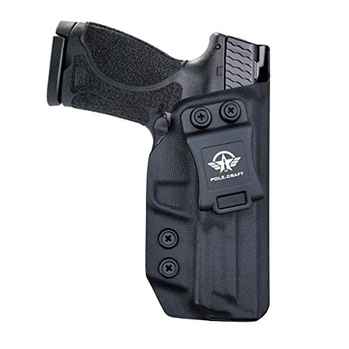 M&P 9mm Holster, M&P 2.0 Hoster, Kydex IWB Holster for Smith & Wesson M&P 9mm M2.0 4'/4.25' Pistol Case - Inside Waistband Carry Concealed Holster M&P 9mm 2.0 IWB Accessories - Right Hand