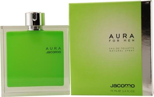 Aura By Jacomo For Men Edt Spray 2.4 Oz by Aura
