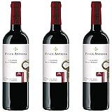 Finca Antigua Petit Verdot Crianza Vino Tinto Crianza - 3 botellas x 750ml - total: 2250 ml