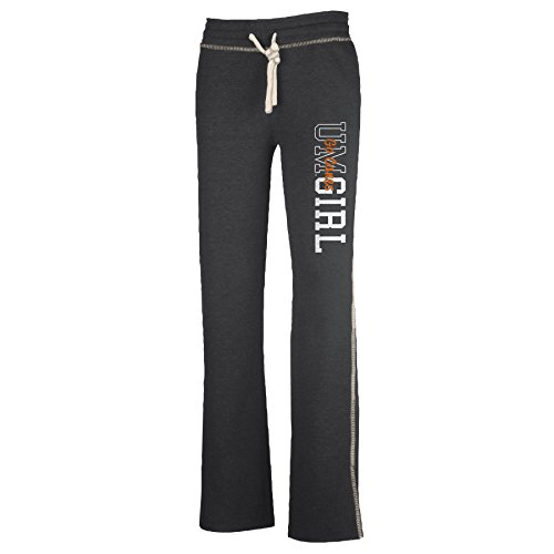 Ouray Sportswear NCAA Miami Hurricanes W Liege Hose, Jungen, Charcoal Heather, Medium