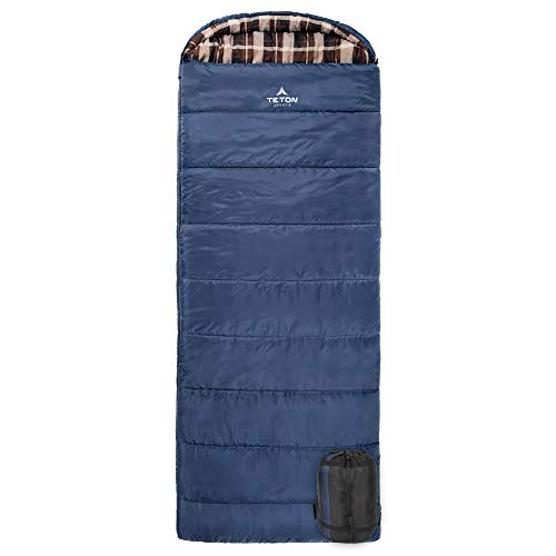 TETON Sports Celsius XL -7C/+20F Sleeping Bag; Free Compression Sack Included