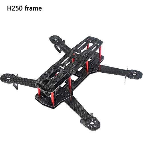 Crazepony Martian II RX255 FPV Racing Drone Carbon Fiber Quadcopter Frame Like QAV250 etc (4MM) (H250)