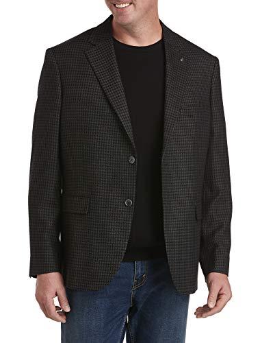 DXL의 오크 힐 크고 키 큰 재킷 - 릴렉스 질감 스포츠 코트 회색