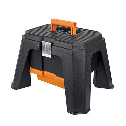 Multi-Functionele Gelaagde Plastic Toolbox Home Kruk Type Opbergdoos Auto Draagbare koffer Hardware Elektrische