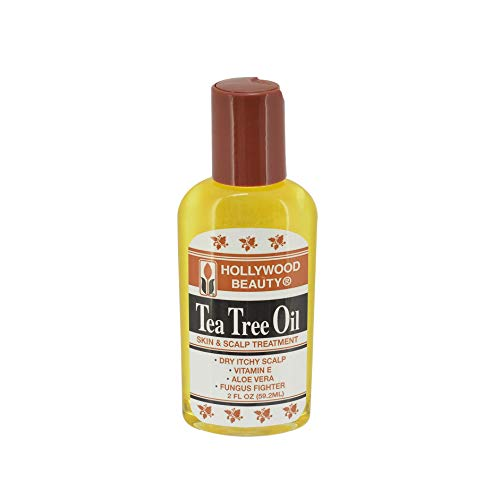 Hollywood Beauty Hollywood Skin Scalp Trtmnt T Tree Oil 2 Oz, Pack of 2