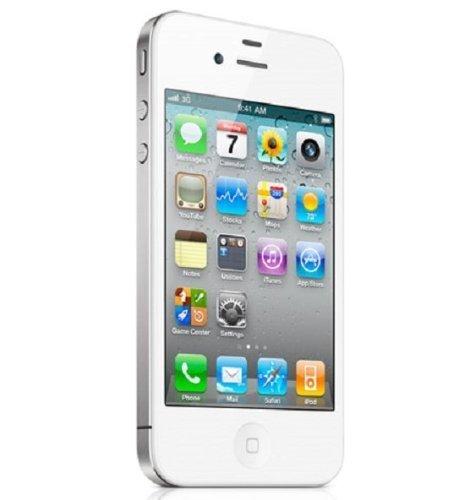 Apple iPhone 4S 16 GB Bianco Smartphone (display touchscreen da 8,9 cm (3,5 ), fotocamera da 8 Megapixel, WiFi, UMTS, Unlocked, iOS 9), senza Simlock (16 GB, bianco)