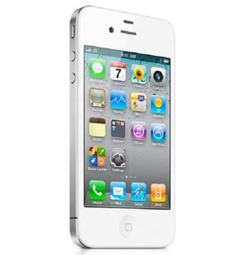 Apple iPhone 4S 8 GB Bianco Smartphone (display touchscreen da 8,9 cm (3,5 pollici), fotocamera da 8 Megapixel, WiFi, UMTS, non locked, iOS 9), senza Simlock (8 GB, bianco)