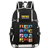 School Bag Teenager Casual Sports Backpack Men's And, Black, Size No Size